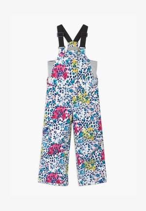 LOLA PRINTED  - Pantalón de nieve - white/multi-coloured