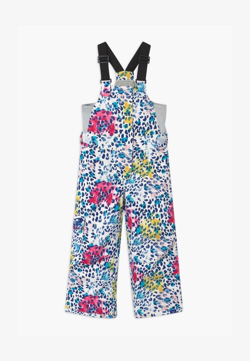 Roxy - LOLA PRINTED  - Snow pants - white/multi-coloured