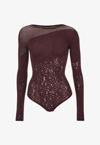 Wolford - POISON DART NET STRING - Body - chateau - 4