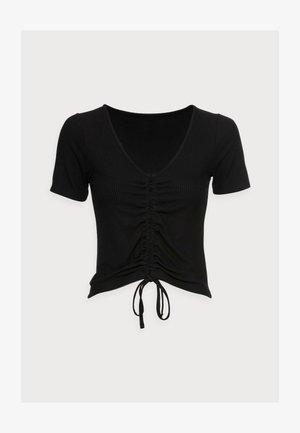 TOP DANIKA - T-shirt med print - black