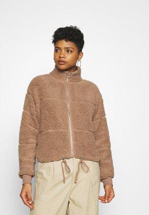 TATUM ZIP THRU  - Zip-up hoodie - beige