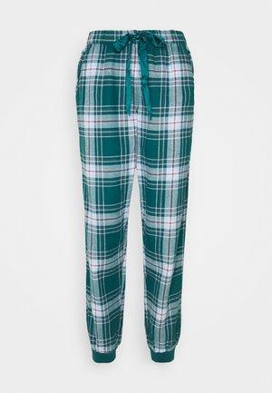 PANT CHECK CUFF - Pyjama bottoms - atlantic deep