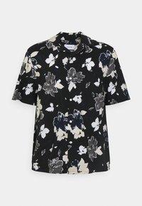 Calvin Klein Tailored - SHORT SLEEVE FLOWER PRINT  - Shirt - print / black - 5