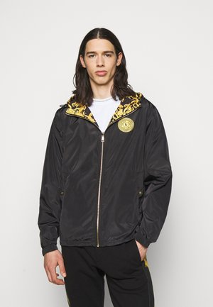 PRINT LOGO BAROQUE  - Summer jacket - black