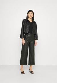 Stylein - VEREL - Faux leather jacket - black - 1
