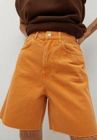 Mango - Shorts di jeans - oranje - 3