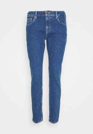 SKIM CROPPED - Džíny Slim Fit - blue denim