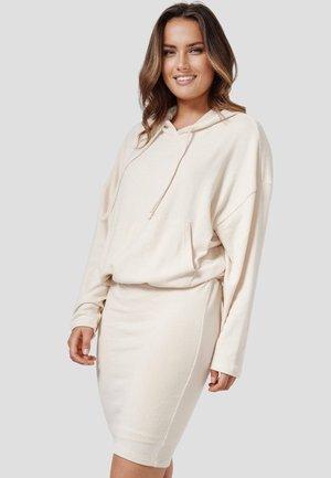 WEGA - Jumper dress - new beige melange