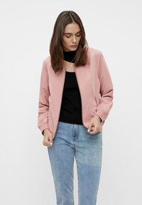 Object - GLÄNZENDE - Bomber Jacket - ash rose - 0