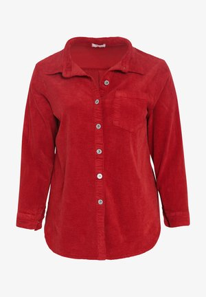 Overhemdblouse - bordeaux