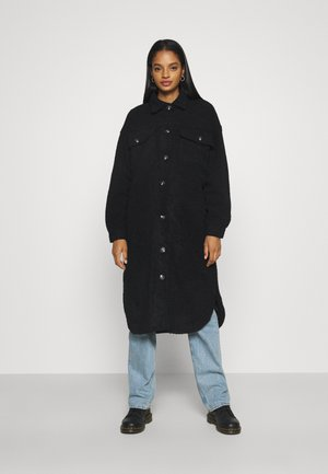 COSY CABIN LONGLINE SHACKET - Winter jacket - black