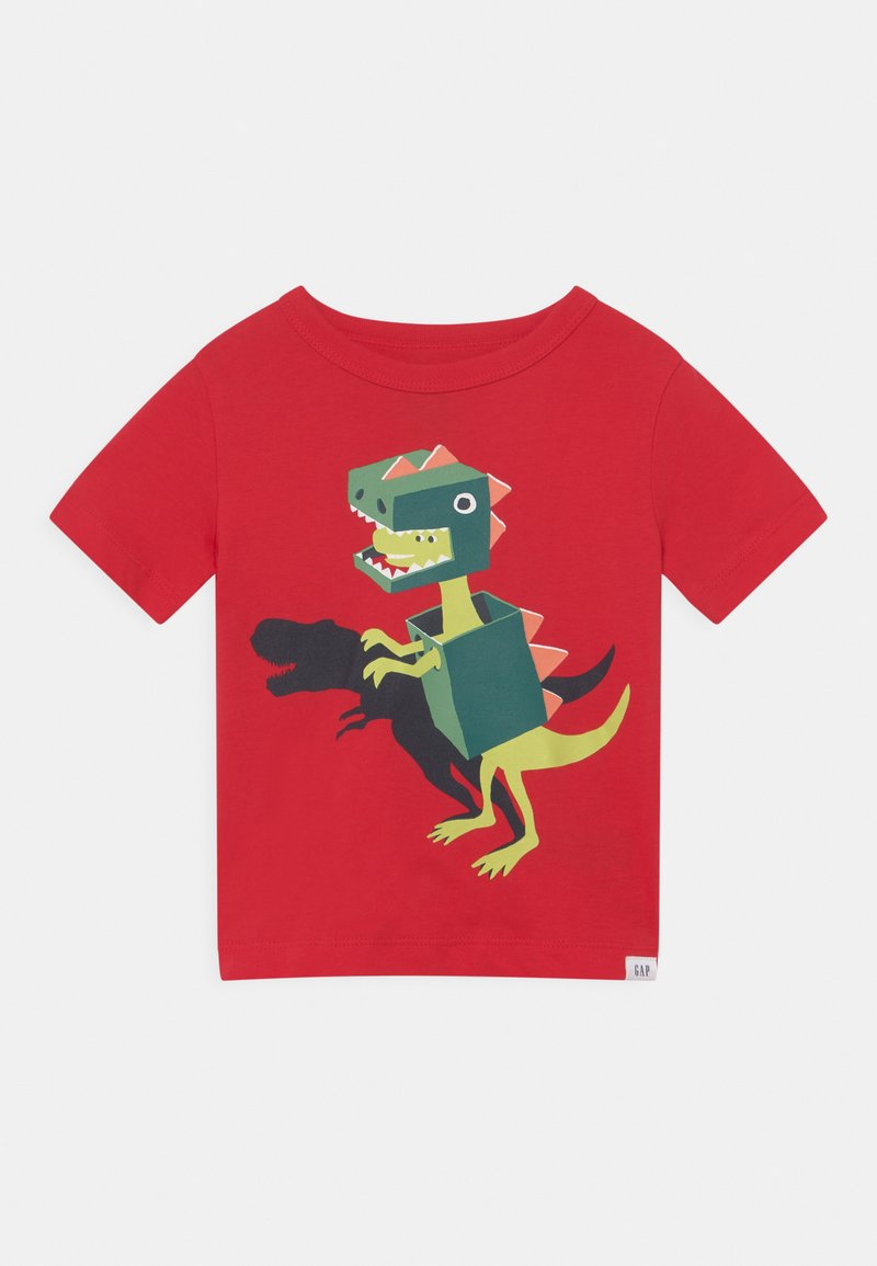 GAP - TODDLER BOY - T-shirt print - pure red