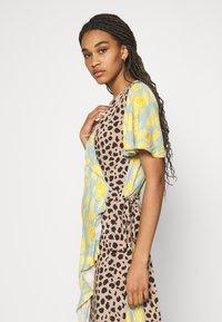 Never Fully Dressed - SPLICE ANIMAL CORDELIA WRAP DRESS - Day dress - multicoloured - 4