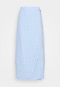 MALLOW SKIRT - Pencil skirt - light blue