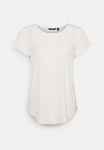 VMBECCA PLAIN - Basic T-shirt - snow white