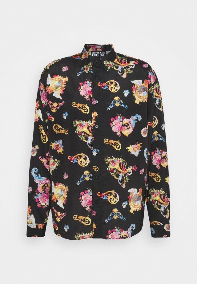 PRINT CAMEO - Overhemd - black