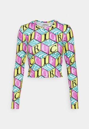 CUBIC MONOGRAM - Maglietta a manica lunga - multi