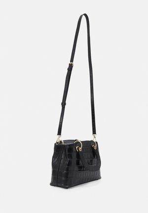 TONNY SATCHEL - Handbag - black/gold