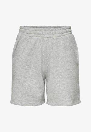 Tracksuit bottoms - light grey melange
