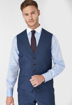 SIGNATURE PLAIN SUIT: WAISTCOAT - Suit waistcoat - blue
