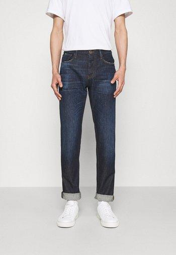 POCKETS PANT - Straight leg -farkut - denim blue