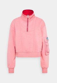 Scotch & Soda - POP OVER MILITARY INSPIRED ZIP DETAIL - Sweatshirt - pink smoothie - 0