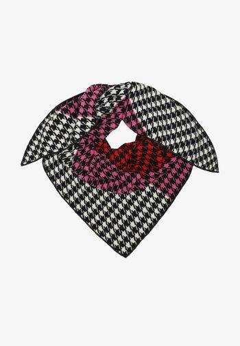 MILLA  - Scarf - schwarz pink