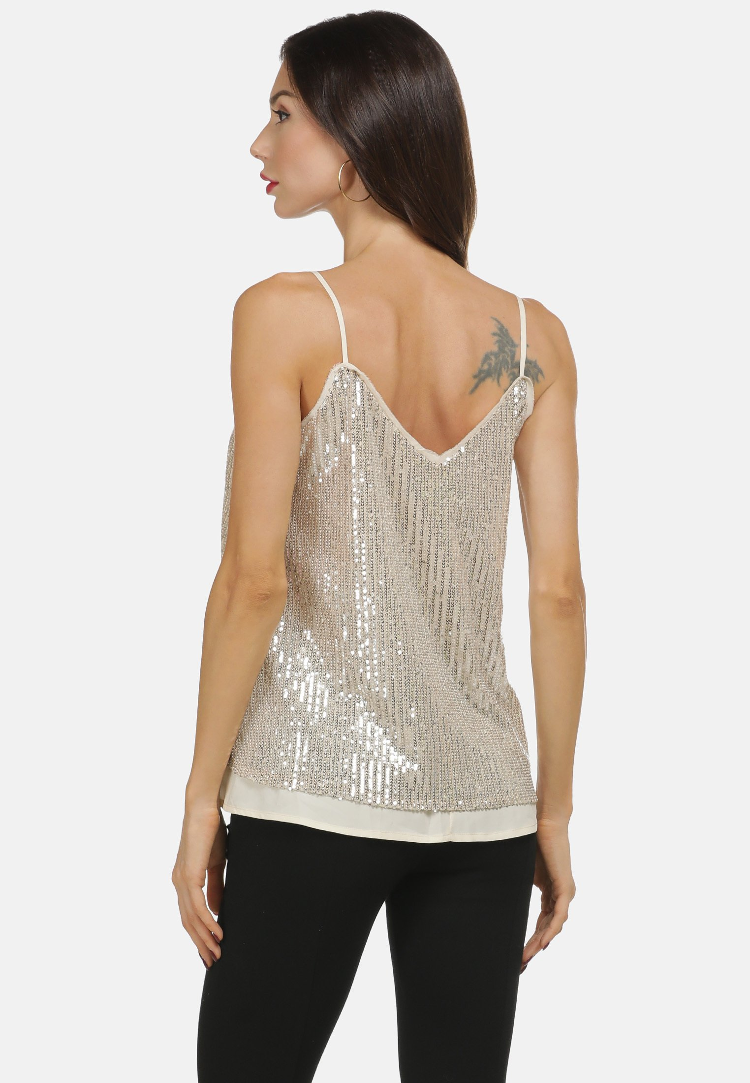 Low Cost Women's Clothing faina TOP Top champagner IEO37ln7Q