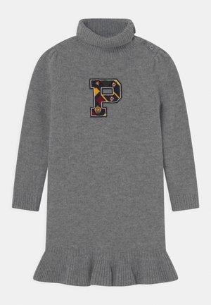 DAY DRESS - Jumper dress - classic grey heather
