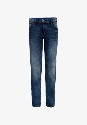 JONGENS SKINNY FIT SELVEDGE JEANS - Jeans Skinny Fit - dark blue