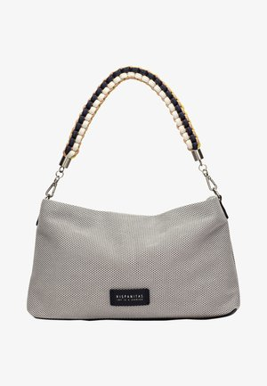Handtas - silver white
