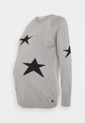 NURSING STARS - Jumper - grey