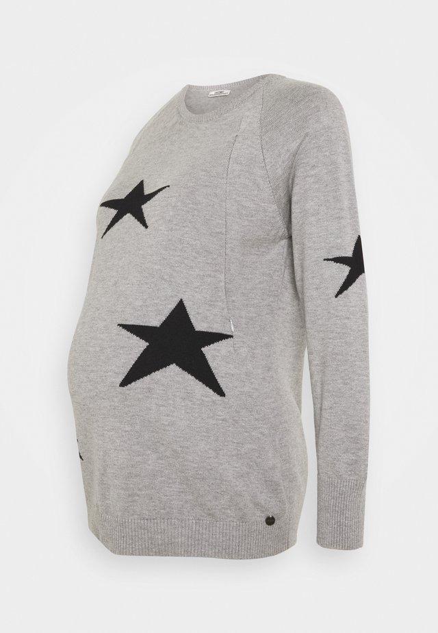 NURSING STARS - Jumper - grey