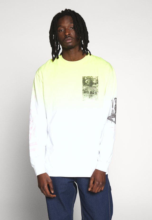 YANGA LONG SLEEVE - T-shirt à manches longues - yellow