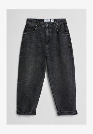 MIT WEITEM BEIN IM  - Straight leg jeans - black