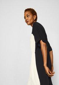 MM6 Maison Margiela - DRESS - Cocktail dress / Party dress - black/off white - 5