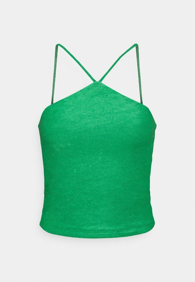 SEVGI SINGLET - Toppe - medium green