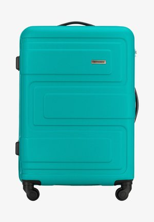 VIP COLLECTION - Wheeled suitcase - turquoise