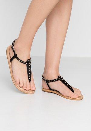 SAMBA - Sandály s odděleným palcem - black