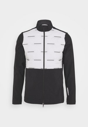 SHIELD GOLF JACKET - Kuoritakki - stone grey