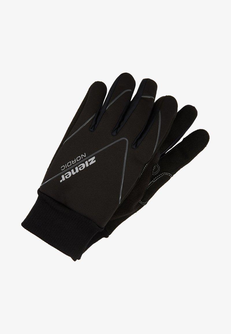 Ziener - UNICO JUNIOR - Rękawiczki pięciopalcowe - black