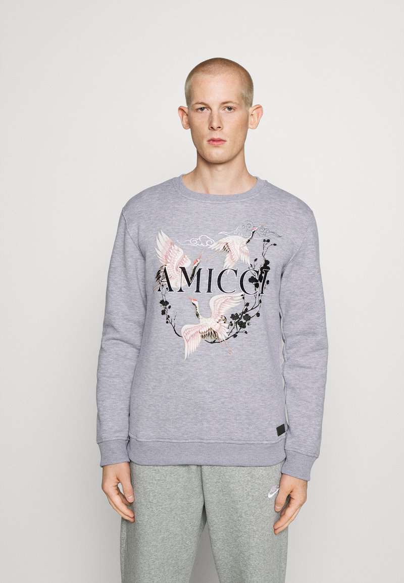 AMICCI - SCICILY  - Sweatshirt - grey marl