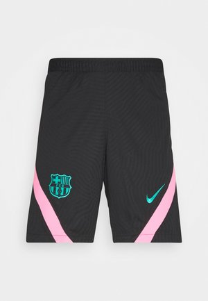 FC BARCELONA DRY - Sports shorts - black/pink beam/new green