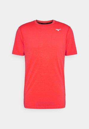 IMPULSE CORE TEE - Basic T-shirt - ignition red