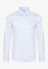 Calvin Klein Tailored - PRINTED EASY CARE SLIM - Formal shirt - blue - 2