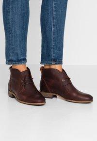 HUB - CHUCKIE - Ankle boots - dark brown - 0
