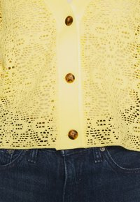 Monki - Cardigan - yellow - 3