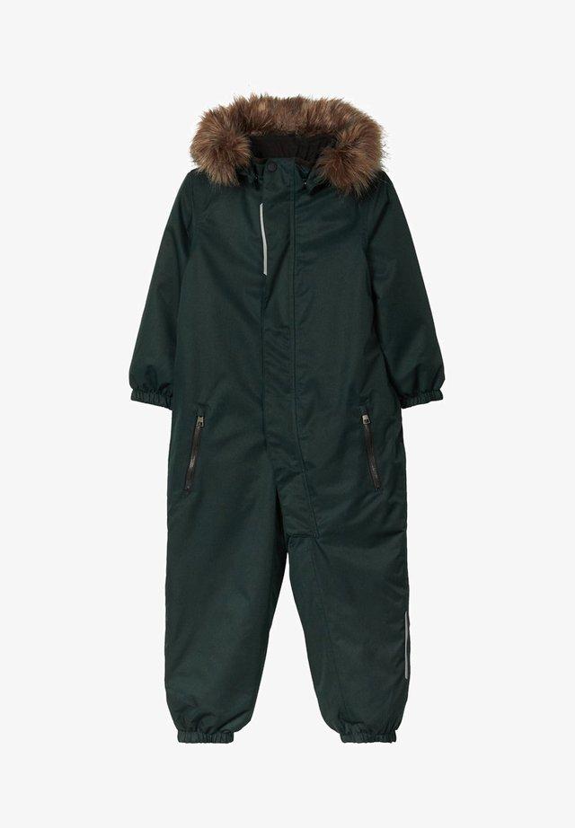 NMMSNOW - Combinaison de ski - darkest spruce