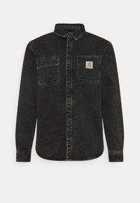 SALINAC SHIRT MAITLAND - Shirt - black stone washed