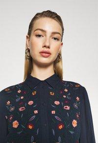YAS - YASSAVANNA DRESS - Maxi dress - dark sapphire - 3